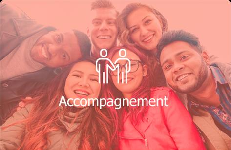 Un groupe d'adolescents qui cherchent du travail