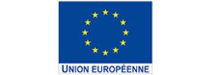 Logo et drapeau de l'Union Européenne