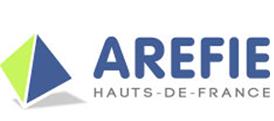Logo de l'AREFIE des Hauts-de-France